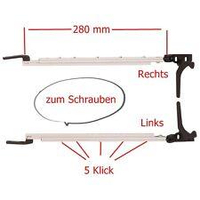 Fensteraussteller 280 mm rechts Klick Klack Polyplastic Aussteller zum Schrauben