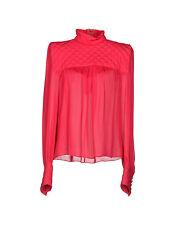 **BALMAIN** Quilted Silk Blouse Shirt Top **£1995.00**