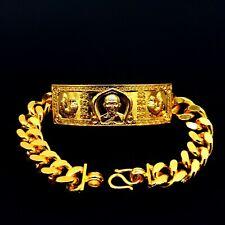 Golden Bracelet Talisman LP Ruay Wat Tako Temple Trimas 59 Thai Buddha Amulet