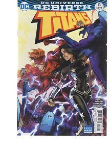 TITANS 13  ( 2016)  DC COMICS REBIRTH SERIES >J