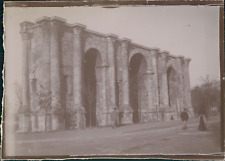 France, Reims, La Porte Mars, ca.1900, vintage citrate print Vintage citrate pri