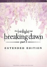 The Twilight Saga: Breaking Dawn ~ Part 1 ~ Extended Edition DVD with Slipcover