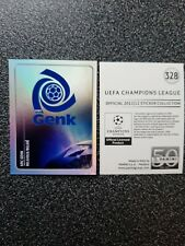 PANINI CHAMPIONS LEAGUE 2011/12 NR. 328 BADGE KRC GENK