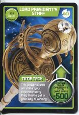 Doctor Who Monster Invasion Card #061 Lord President's Staff