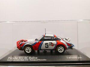 Minichamps Martini Porsche 911SC 1978 Safari Rally Waldegård 1:43 Limited 4032
