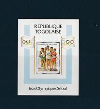 Togo bloc  jeux olympiques de Séoul   de 1988   num: 266  **