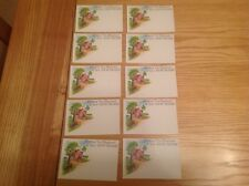Florist Gift / Present Cards (10 cards)  New Home. 9cm x 6cm. Lot 8