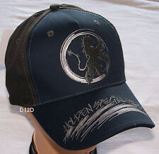 Holden Special Vehicles HSV Boys Navy Blue Grey Embroidered Cap 56cm New