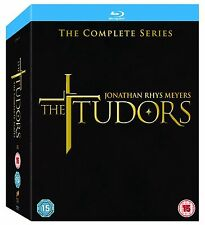 The Tudors The Complete Series Blu-Ray Box Set BRAND NEW Free Ship