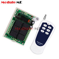 1/2/5PCS 12V 6 Channel RF Wireless Remote Control Transmitter + Receiver 433MHZ