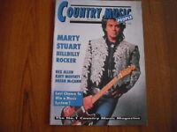 COUNTRY MUSIC PEOPLE - MAGAZINE - MAY 1992 - MARTY STUART