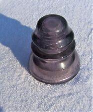 Vintage WHITALL TATUM No. 1  Purple Glass Insulator (Made In USA # 28)