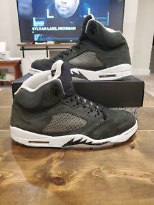 Nike Air Jordan V 5 Retro Oreo Men's Size 13 [136027-035] Rare