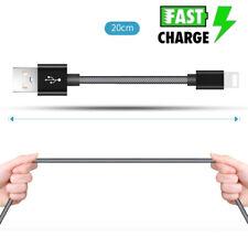 20 cm Kurz Datenkabel Ladekabel kurz Lightning 8-pin Für iPhone 5 6 7 8 X iPad