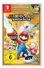 Mario + Rabbids Kingdom Battle-Gold Edition switch!!! nuevo + embalaje orig.!!!