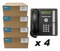 Avaya 1416 Digital Phone Global, 4 Pack (700510910) Certified Refurb, 1 Yr Warr