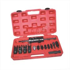 14 Pc Injector Removal / Replacement Extractor Slide Hammer Puller Tools Kit