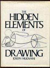 THE HIDDEN ELEMENTS OF DRAWING by Joseph Mugnaini - 1974 1st Edition in DJ