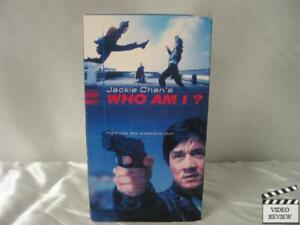 Who Am I? VHS Jackie Chan, Michelle Ferre