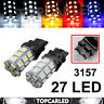 T25 3157 3156 27SMD 5050 Car auto Backup Reverse Brake Turn Tail LED Light Lamp