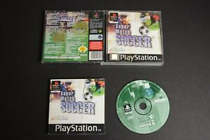 Super Match Soccer Game PlayStation One PS1 Good Condition Manual Inc PAL UK