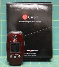 Verizon Wireless LG VX8350 Red Flip-phone in Box *Sold As Is*