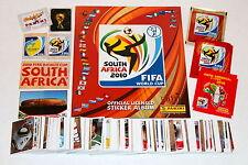 Komplett Satz Panini WM Süd Afrika 2010 Komplett  Album Up Dates