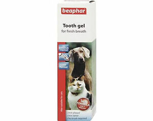 Beaphar Tooth Gel For Cats And Dogs No Brushing Required - Liver Flavour