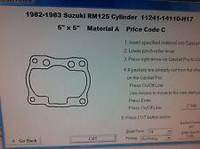 Suzuki RM125   Cylinder Base Gasket 1982 1983