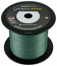 Spiderwire Dura-4 Braid 4-carrier braid 1500yd 30lb Moss Green SDR4B30G-1500