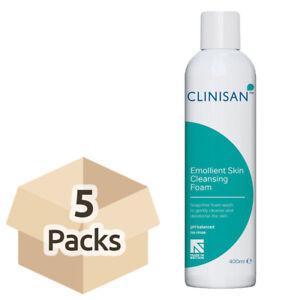 5x Clinisan Emollient Skin Cleansing Foam - 400ml - PH Balanced