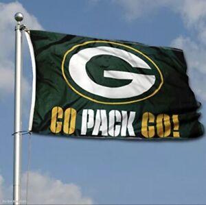 Green Bay Packers Flag Banner 3x5 Ft NFL Football Super Bowl Sports Team