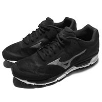 Mizuno Sport Style Synchro MX 2 Black Grey Men Running Shoes Sneaker J1GE17-1949