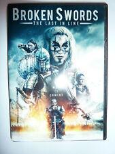 Broken Swords The Last In Line Dvd action fantasy movie Templars Michael Babbitt