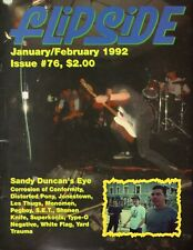 FLIPSIDE MAGAZINE ISSUE 76 FROM 1992       HARD TO FIND      COC+TYPE-O NEGATIVE