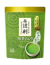 Kyoto Uji Tsujiri Instant Matcha Milk Tea Powder 200g F/S Japan