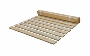 Solid Wooden Replacement Bed Slats with Natural Finish in Sizes, 3ft, 4ft6, 5ft