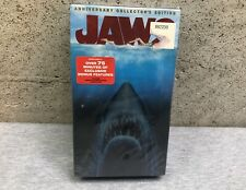 NEW Jaws Anniversary Collectors Edition VHS Double Set 85818 SEALED Video Tape