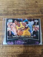 #75 Kobe Bryant 1998-99 Upper Deck Game Dated Los Angeles Lakers