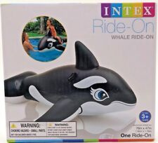 Intex Ride On Whale Inflatable Pool Toy