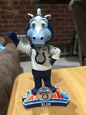 Indianapolis Colts Mascot Bobble Head Blue 2007 Numbered