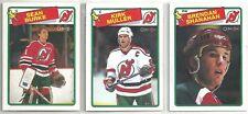 1988-89 O-PEE-CHEE Hockey New Jersey Devils 12-card Team Set Brendan Shanahan RC