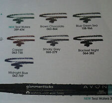 Avon~GLIMMERSTICKS WATERPROOF Eye Liner~SEALED ( VARIES SHADES )