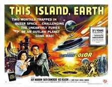 This Island Earth Poster 06 Metal Sign A4 12x8 Aluminium