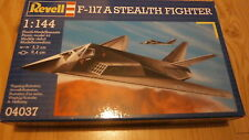 REVELL 04037 F-117 Stealth Fighter 1/144 scale.