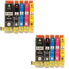 Prestige Cartridge Epson 26XL Lot de 10 Cartouches d'encre compatible avec Impri