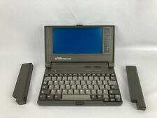Vintage 1993 Gateway 2000 Handbook Laptop Computer Untested w 2 Batteries