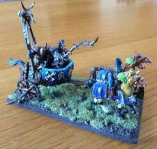 Warhammer Chaos Warrior guerra carro aos Miniatura Pro Pintado Raro