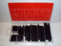 Heat Shrink Wire Wrap Assortment Tubing Electrical Connection Cable Sleeve 127pc