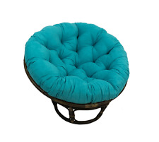 Papasan Cushion For Rattan Chair Outdoor Large Pillow Oversized 44-in Kids NEW